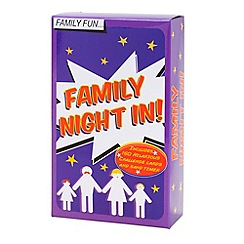 Talking Tables - Family night in card games