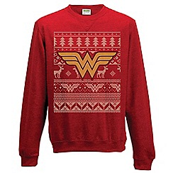DC Comics - Wonderwoman Christmas jumper