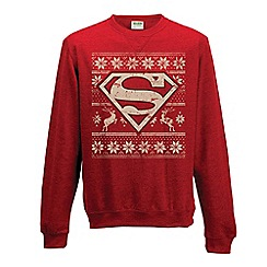 Superman - Logo Christmas jumper