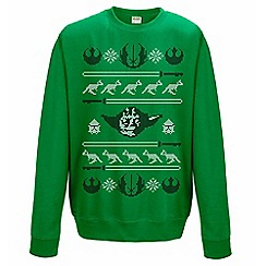 Star Wars - Yoda Christmas jumper