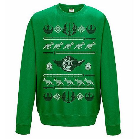 Star Wars - Yoda Christmas jumper