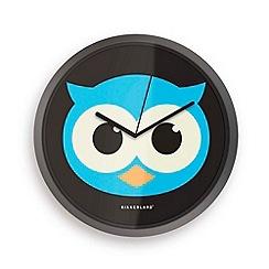 Kikkerland - Owl clock