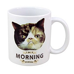 Debenhams - I am a morning person' mug