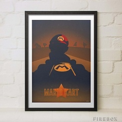 Firebox - Mario Kart medium print