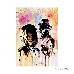 Firebox - Daft punk medium print
