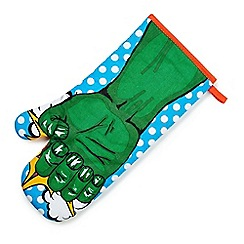 Debenhams - Superhero oven glove - green man