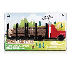 Debenhams - Log pencil truck