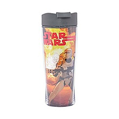 Star Wars - Kylo Ren and Storm Trooper double wall coffee tumbler