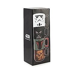 Star Wars - Set of four stacking mugs