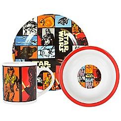 Star Wars - Retro 3 piece breakfast set