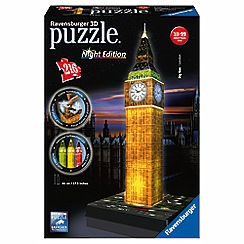 Ravensburger - 3D Light up Big Ben