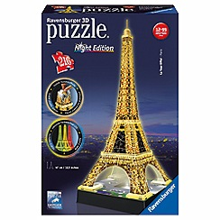 Ravensburger - 3D Light up Eiffel Tower
