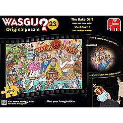 Jumbo - Wasgij Original 23 Bake Off 1000 PC PUZZLE