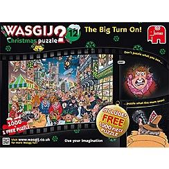 Jumbo - Wasgij Christmas 12 2x1000pce Puzzle