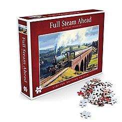 Debenhams - Full Steam Ahead Jigsaw Puzzle