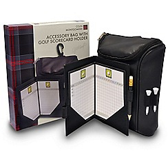 Colin Montgomerie Golf - Accessory bag scorecard holder