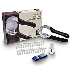 Colin Montgomerie Golf - Golf ball monogrammer