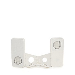 Debenhams - Gadgets on the Go' white pop-up speaker dock