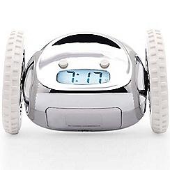 Suck UK - Chrome clocky alarm clock
