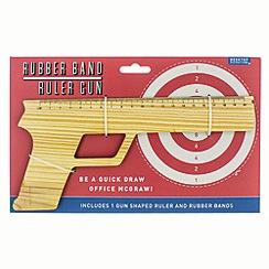 Debenhams - Rubber band ruler gun