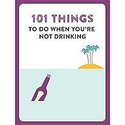 Debenhams - 101 Things to do when you give up drinking