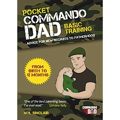 Debenhams - Pocket commando dad - book