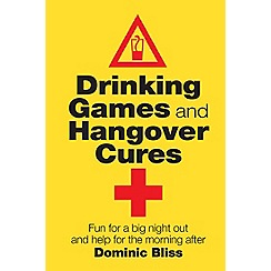 Debenhams - Drinking games and hangover cures - book