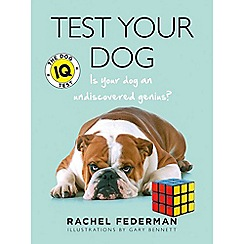 Debenhams - Test your dog - the dog IQ test book
