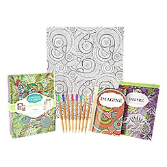 Parragon - Colouring tin creativity