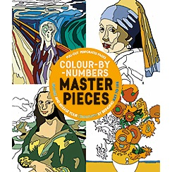 Parragon - Colour by numbers  masterpieces