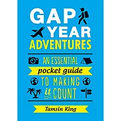 Debenhams - Gap year adventures book