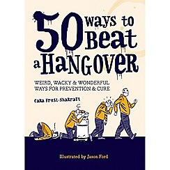 Debenhams - 50 ways to beat a hangover - new rrp book