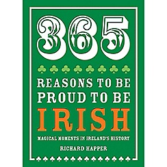 Debenhams - 365 reasons to be proud to be irish book