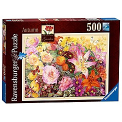 Ravensburger - The Cottage Garden No.3 Autumn 500 piece Jigsaw Puzzle