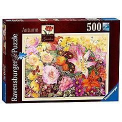 Ravensburger - The Cottage Garden No.3 Autumn 500 piece Jigsaw Puzzle