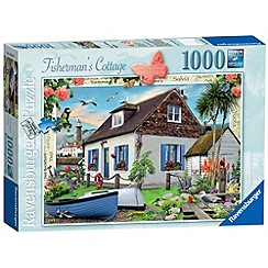 Ravensburger - Country Cottage The Fisherman's Cottage 1000 piece Jigsaw Puzzle