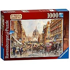 Ravensburger - London - St Paul's & Ludgate Hill 1000 piece Jigsaw Puzzle
