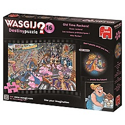Jumbo - Wasjig destiny 16 old time rockers 1000 piece puzzle