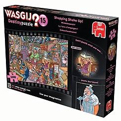 Jumbo - Wasjig destiny 15 shopping shake 1000 piece puzzle