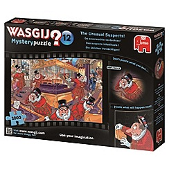 Jumbo - Wasjig mystery the unusual suspects 1000 piece puzzle