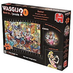 Jumbo - Wasjig back to basics 1000 piece puzzle