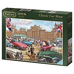 Jumbo - Falcon deluxe classic car show 1000 piece puzzle
