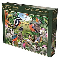 Jumbo - Falcon deluxe bird for all seasons 1000 piece puzzle