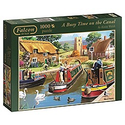Jumbo - Falcon deluxe canal 1000 piece puzzle
