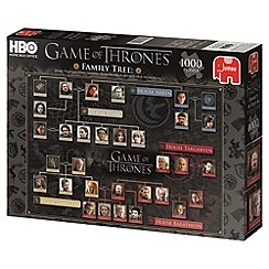 Game of Thrones - Family tree 1000 piece puzzle