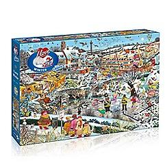 Debenhams - Gibsons I Love Winter (1000 piece jigsaw puzzle)