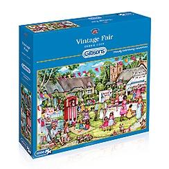 Debenhams - Gibsons Vintage Fair (1000 piece jigsaw puzzle)