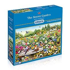 Debenhams - Gibsons The Secret Garden (1000 piece jigsaw puzzle)