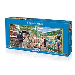 Debenhams - Gibsons Seaside Train (636 piece jigsaw puzzle)