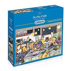 Debenhams - Gibsons Barks Cafe (1000 piece jigsaw puzzle)